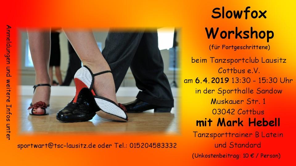 Workshop SLOWFOX - BASIC - 06.04.2019